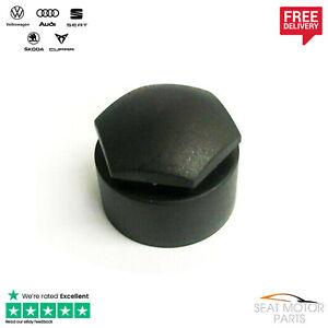 Genuine VW SEAT Audi Skoda Wheel Bolt Nut Cover/Cap (Various Models)