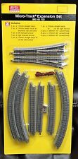 Z Scale - MICRO-TRAINS MTL 990 40 102 Expansion Pack Track Set with Roadbed