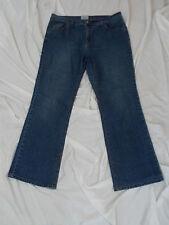 "4866 Womens Carolina Blues Blue Stretch Jeans, size 16 x 30"" inseam"