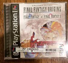 New listing Final Fantasy Origins (Sony PlayStation 1, 2003) Black Label Near Mint Complete