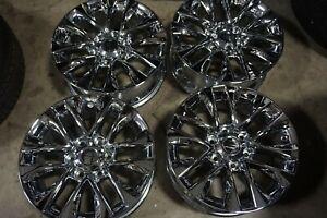 "4- 18"" Lexus GX460 Replica Chrome Wheels Rims Toyota 4Runner Tacoma 74297"