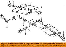 GM OEM Steering Gear-Inner Tie Rod End 7837183