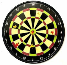 "18"" Magnetic Dart Board Kids Dartboard Family Party Toy Play Fun Game 6 Darts"