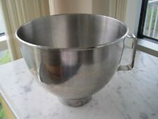 Kitchenaid Mixer Bowl - Stainless 4.5 Quart w/ Handle