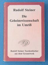 Die Geheimwissenschaft im Umriß | Rudolf Steiner | Buch |
