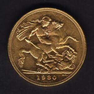 Australia.  1930 Perth - Sovereign.. Near Full Lustre - aUNC