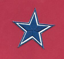 "New Dallas Cowboys 'Light Blue Star' 3 "" Inch Iron on Patch Free Shipping"