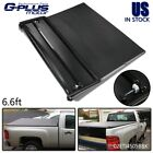 Fit For 88-07 Chevy Silverado Std 6.6Ft Bed Four-Fold Soft Tonneau Cover New