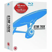 The Complete Star Trek Movies Blu Ray Box Set Collection Brand New