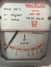 Flowmeter tecfluid dp-65 DP65  PN40  DN80