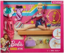 Barbie Gymnast Playset, Dolls with Accessories