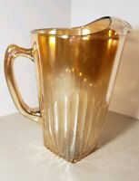 Vintage Jeannette Glass Co Marigold Water Pitcher **Rare**