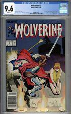 Wolverine #3 CGC 9.6 NM+ Newsstand Variant Jessica Drew & Silver Samurai App.