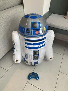Giant 64cm Remote Control R2D2 Inflatable RC Star Wars Droid -Full Working Order