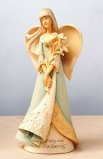 ENESCO FOUNDATIONS SPRING BLESSINGS ANGEL FIGURINE HOLIDAY GIFT - NIB 32043