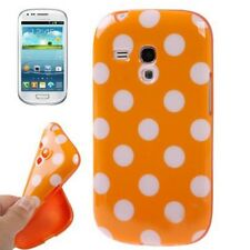 Smartphone Funda para movil samsung galaxy s3 mini i8190 Cubierta Bumper Orange