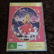 BARBIE A FASHION FAIRYTALE DVD. REGION 2/4