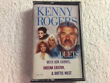 Kenny Rogers - Duets (Carnes, West, Easton) - Cassette - 1984 Liberty Records #A
