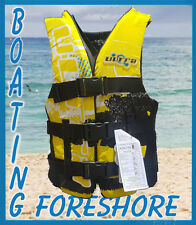 Life Jacket  CONTENDER by Ultra  Adult Extra Extra Extra LARGE  PFD 60kg+ yellow