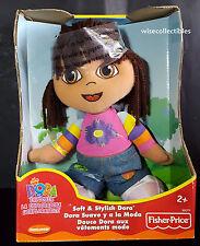 2003 Fisher Price Soft & Stylish Dora The Explorer Doll Plush Toy VHTF Rare NEW