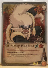 "Naruto Monkey King Emma N-164 ""Adamantine Nyoi Staff"" Super Rare NM"