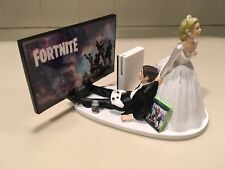 Fortnite Wedding Cake Topper Funny Xbox Ps4 Video Games