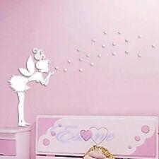 Fairy Angel Stars Mirror Stlye Wall Home Decal Decor Vinyl Art Mural Stickers