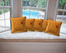 "Cushion Cover Silk Throw Sofa Cover Pillowcase Christmas Home Decor 16"""