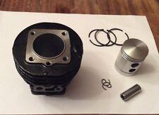 Neuf Cylindre Fonte Solex Velosolex + Piston Competition 3800 5000