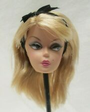 BARBIE SILKSTONE Preferably Pink  DOLL HEAD ONLY   MATTEL