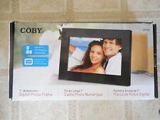 "COBY DP700 BLK 7"" WIDESCREEN DIGITAL PHOTO FRAME"