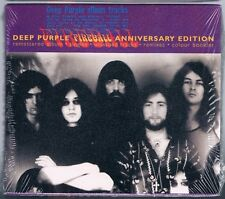 DEEP PURPLE FIREBALL ANNIVERSARY EDITION CD UK SIGILLATO!!!