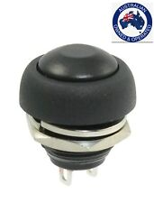 1 x 12mm Flush Mount SPST ON/OFF Momentary Round Push Button Switch