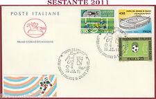 ITALIA FDC CAVALLINO CAMPIONATO ITALIANO DI CALCIO SERIE A 1991 ROMA FIL. U684