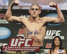 Joe Lauzon UFC Fighter signed 8x10 photo PSA/DNA # Y48412
