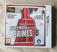 NEW SEALED 3DS game - James Noir's Hollywood Crimes - plays on 3 ds 2ds xl