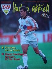Programm 1996/97 VfB Stuttgart - St. Pauli