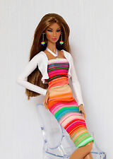 Rainbow outfit for Fashion Royalty, Poppy Parker, Nu face, Barbie by Olgaomi