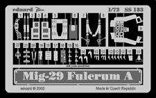 Eduard 1/72 MiG-29 Fulcrum A etch for Italeri # SS183