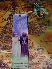 Lord of the Rings Arwen and King Aragorn Bookmark with One Ring SET OF 2