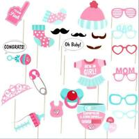 Baby Shower Fun Photo Booth Props Little Boy New Born Party Accessories LI