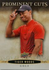 2018 National Sports Convention V.I.P. Card TIGER WOODS VIP-5 Prominent Cuts