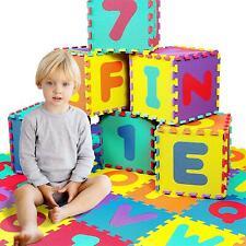Krabbelmatte Kinderteppich ABC Spiel Kinder Teppich Matte Puzzle Schutz 86 tlg