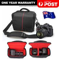 SLR DSLR Lens Camera Bag Carry Case For Nikon Canon EOS Sony Olympus Cover