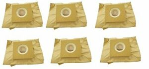 6 Bissell Canister Bags Zing 22Q3 Vacuum Bags 2037500, 2037960, 77F8