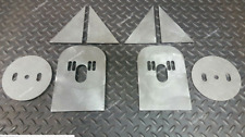 Front Torsion Bar Style Mount Bagged Air Ride Bag Brackets Kit 14 Thick