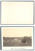 Le pays de Galles, Un château  CDV vintage albumen,  Tirage albuminé  6,5x10
