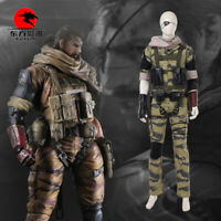 DFYM Metal Gear Solid 5 Cosplay Costume Men Snake Customize Halloween Party