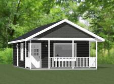 18x30 Tiny House -- 540 sq ft -- PDF Floor Plan - Model 4H