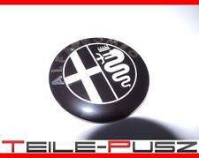 Emblem Logo Kühlergrill Alfa Romeo 159 Brera GT Mito Giulietta Aufkleber schwarz